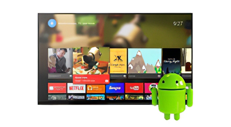 Android operating system for all our very smart mirror televisions.