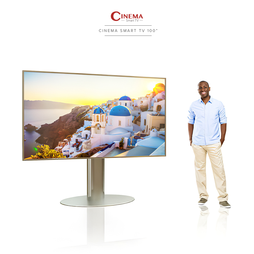 Very big, very intelligent, and a TV worth your money.
