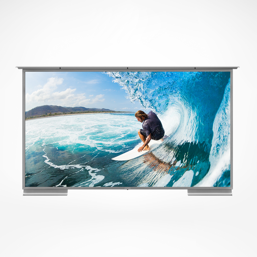 Excellent outdoor TV now with Google Assistant and powered with the latest Android.