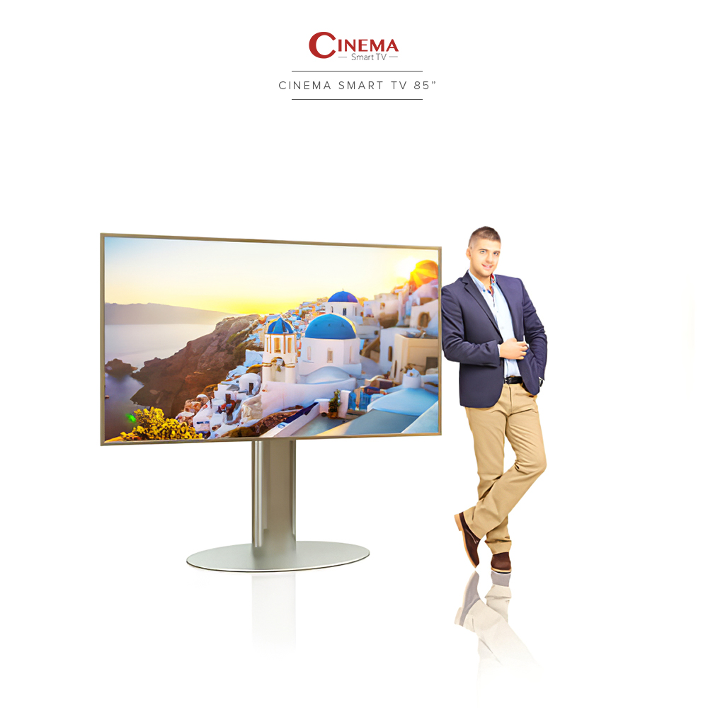 Boasting its 4k ultra high definition smart TV in a big screen.